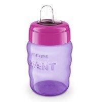 Philips AVENT Чаша за лесен преход без дръжки 9м+, 260 мл, розова