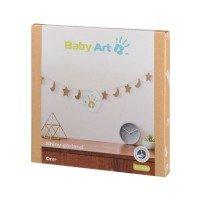 BABY ART Златист гирлянд с отпечатък с боички