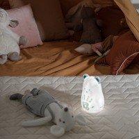 BABY ART Преносима лампа-мече с отпечатък с боички