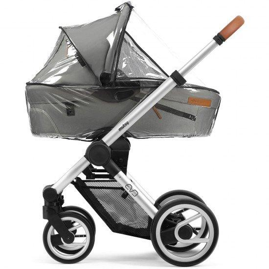 MUTSY Дъждобран за кош за новородено за количка EVO