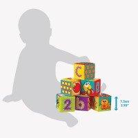 PLAYGRO Меки кубчета за баня (6бр./оп.) 6м+
