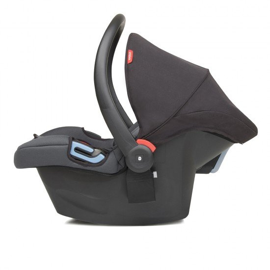 Phil & Teds Столче за кола Alpha (група 0+ (0-13 кг)), черно и червено