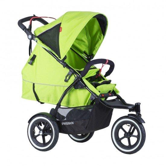 Phil & Teds Седалка за второ дете Sport V5, светло зелена
