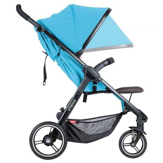 Phil & Teds Детска количка Smart V3, синя