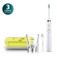 Philips Sonicare Звукочестотна четка за зъби Diamond Clean, бяла