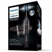 Philips Sonicare Звукочестотна четка за зъби Diamond Clean, серия 9000, черна