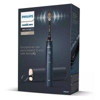 Philips Sonicare Звукочестотна четка за зъби Prestige, серия 9900, SenseIQ, тъмно син