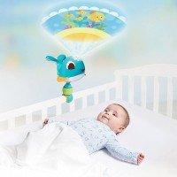 TINY LOVE Музикален проектор за легло/рафт Cody /син кит/