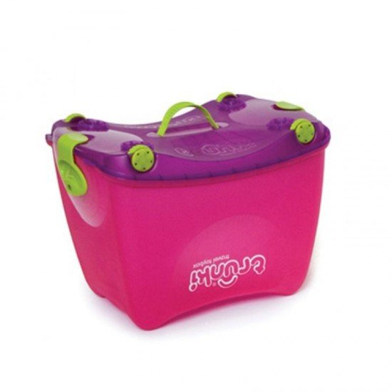 TRUNKI Кутия за играчки, розова