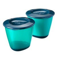 Tommee Tippee Големи контейнери за храна, 4м+, 2 бр/оп