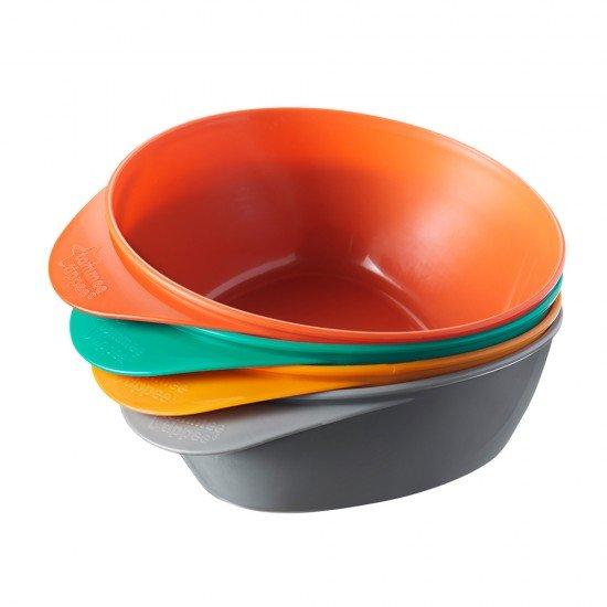 Tommee Tippee Купи за храна 6м+, 4 бр./оп.