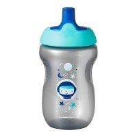 Tommee Tippee Неразливаща чаша със спортен накрайник 300 мл, Синя, 12м+