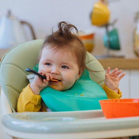 Tommee Tippee Лъжици за хранене с антибактериално покритие BACSHIELD, 6м+, 5 бр./оп.