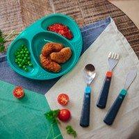 Tommee Tippee Комплект първи метални прибори за хранене, 12 м+