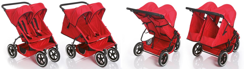 Количка за близнаци Phil&Teds Twin е достатъчно тясна, за да минава през стандартни врати