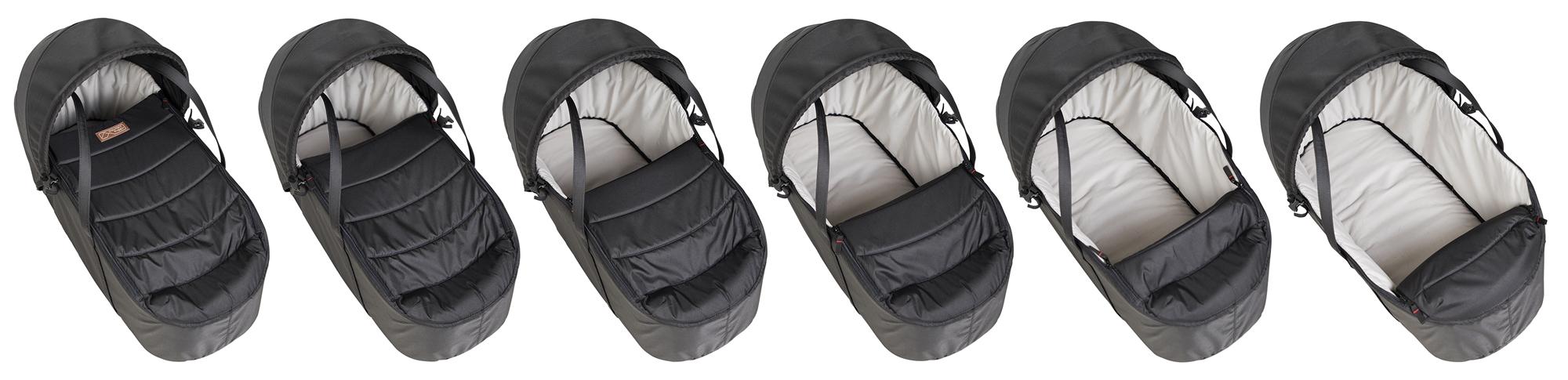 Mountain Buggy Кош за новородено Cocoon е ултралек и осигурява комфорт за бебето, за да може да пътува навсякъде с вас